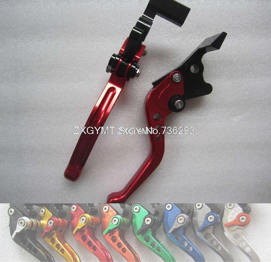 fit KAWASAKI Z750 07-12 Cnc Adjustable Short / Long Levers 8 Color Options MT-L2640(China (Mainland))