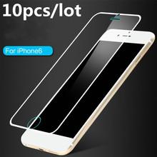 2016 Nuevo Para el iphone 6 6 s 4.7 pulgadas Arco Templado Protector de Pantalla Protector de Pantalla de Cristal Película Protectora CXF01A(China (Mainland))