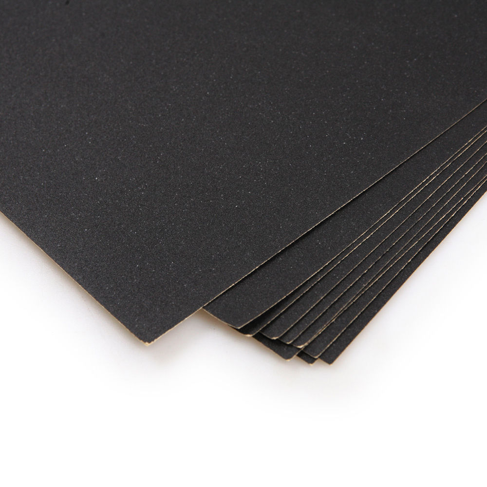 10pcs WET DRY sandpaper sheets 280 400 800 1500 2000 GRIT 230mm x 280mm(China (Mainland))