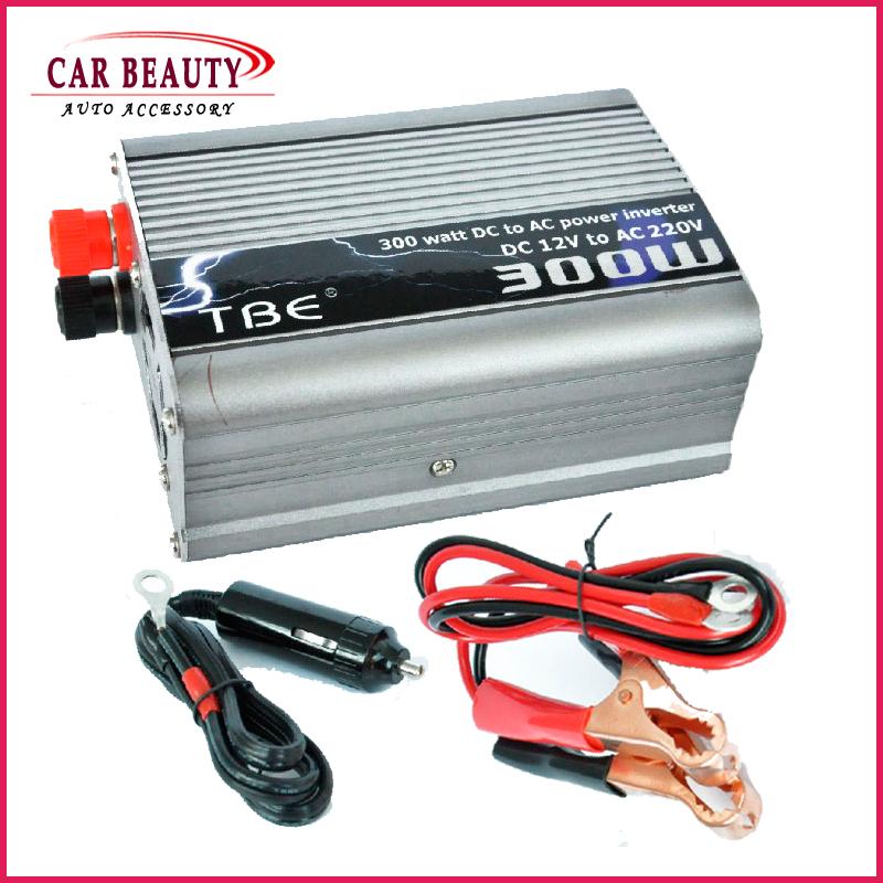 300W 12V/220V Portable Automotive Power Inverter Charger Converter for Car Auto DC 12V to AC 220V Modified Sine Wave(China (Mainland))