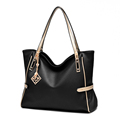 Exquisite Elegant Women Plain Tote Trendy Fashion Large Hand Bag Ladies Large Capacity High Quality Shoulder