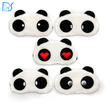 Free Shipping Panda Sleeping Eye Mask Nap Eye Shade Cartoon Blindfold Sleep Eyes Cover Sleeping Travel Rest Patch Blinder(China (Mainland))