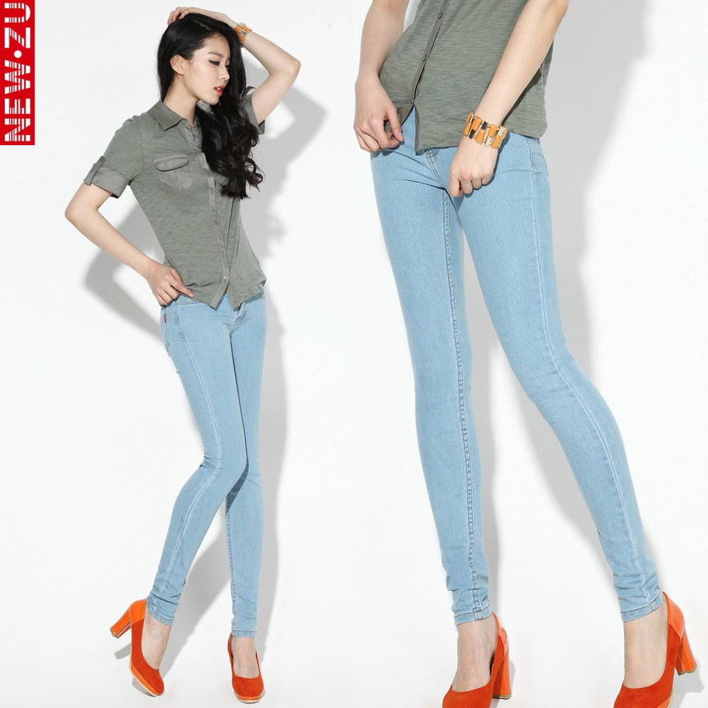 Images of Skinny Pants For Women - Reikian