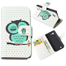 Printing Pattern PU Leather Cover for Amoi N828 N820 N821 Case Wallet Stand Phone Cases with Card Holder 10 Colors in Stock(China (Mainland))