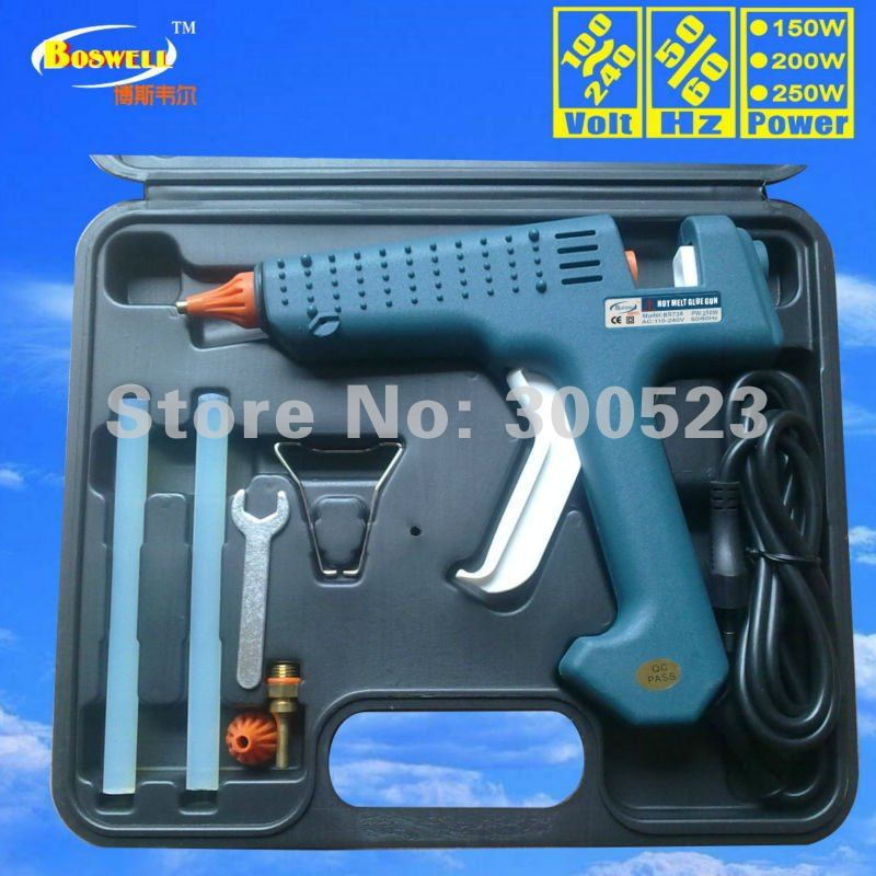 Tool bag: EU plug 200W High-power thermostat Hot melt glue gun, hair extension tools, 1 pcs/lot, free shipping<br><br>Aliexpress