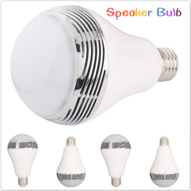 unique and exclusive two-in-one design - the smart LED bulb with Bluetooth and speaker!(China (Mainland))