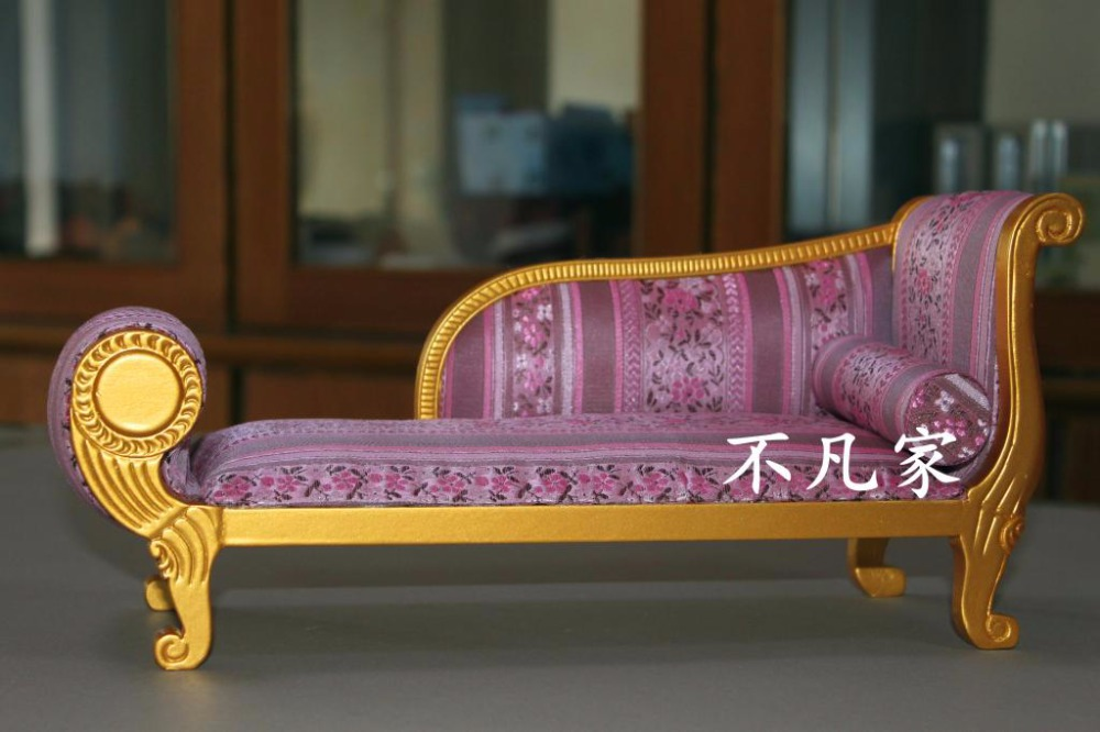 1/6 SCALE BJD DOLL jerry MINIATURE furniture handmade Purple Royal Bed<br><br>Aliexpress