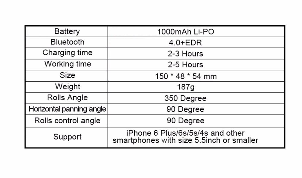 - HTB1Uz6VKXXXXXcfXFXXq6xXFXXXi - 2016 Upslon X-Cam Self Selfie Sticks Handheld Gimbal 2-axis Stabilizer Brushless Bluetooth Control For iPhone Samsung Smartphone