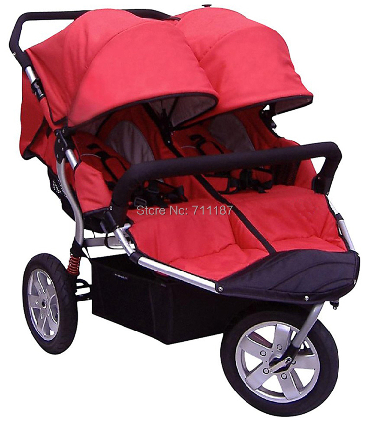 Best Gift to your Twins! Deluxe Baby Stroller for twins Suit for 0-3 year Convenient To Go Shopping<br><br>Aliexpress