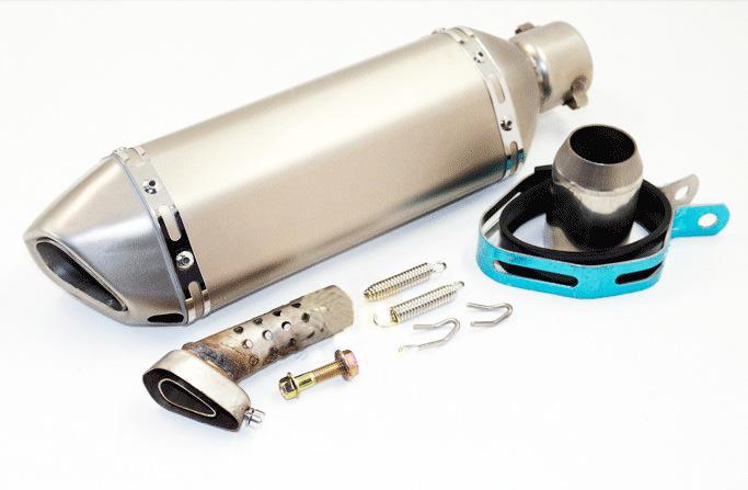 Фотография 4 Color Universal 35-51MM Motorcycle Exhaust Modified Akrapovic Muffle pipe For R1 ZX6R R6 ZX10R CBR GSXR750 YZF GSXR750 CBR125