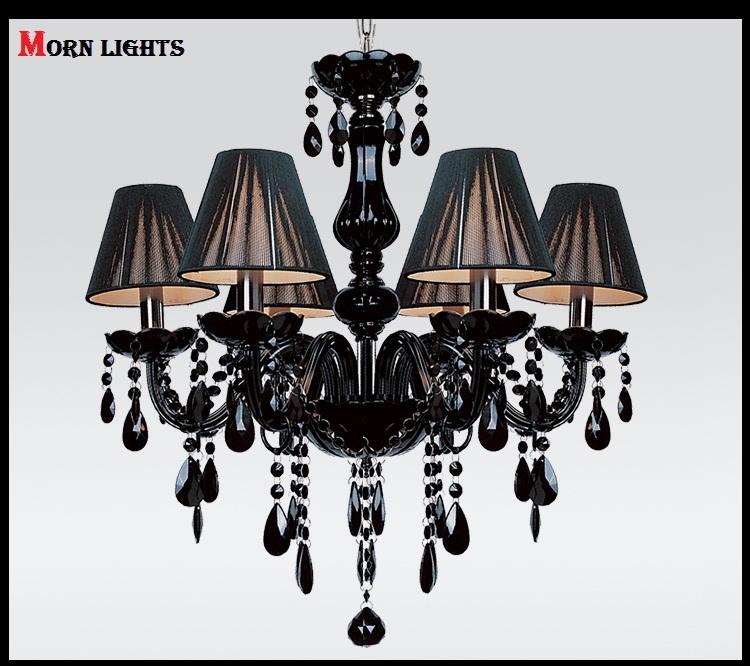 Chandelier Lighting Modern crystal Black chandelier lights blacklighting fashion crystal chandelier light<br><br>Aliexpress
