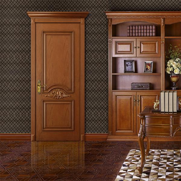 Veneer door Guangzhou Canton Fair Modern Solid Wooden Interior Doors MSPD62(China (Mainland))