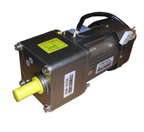 Фотография AC 380V 60W Three phase gear regulated speed motor with gearbox. AC gear motor,