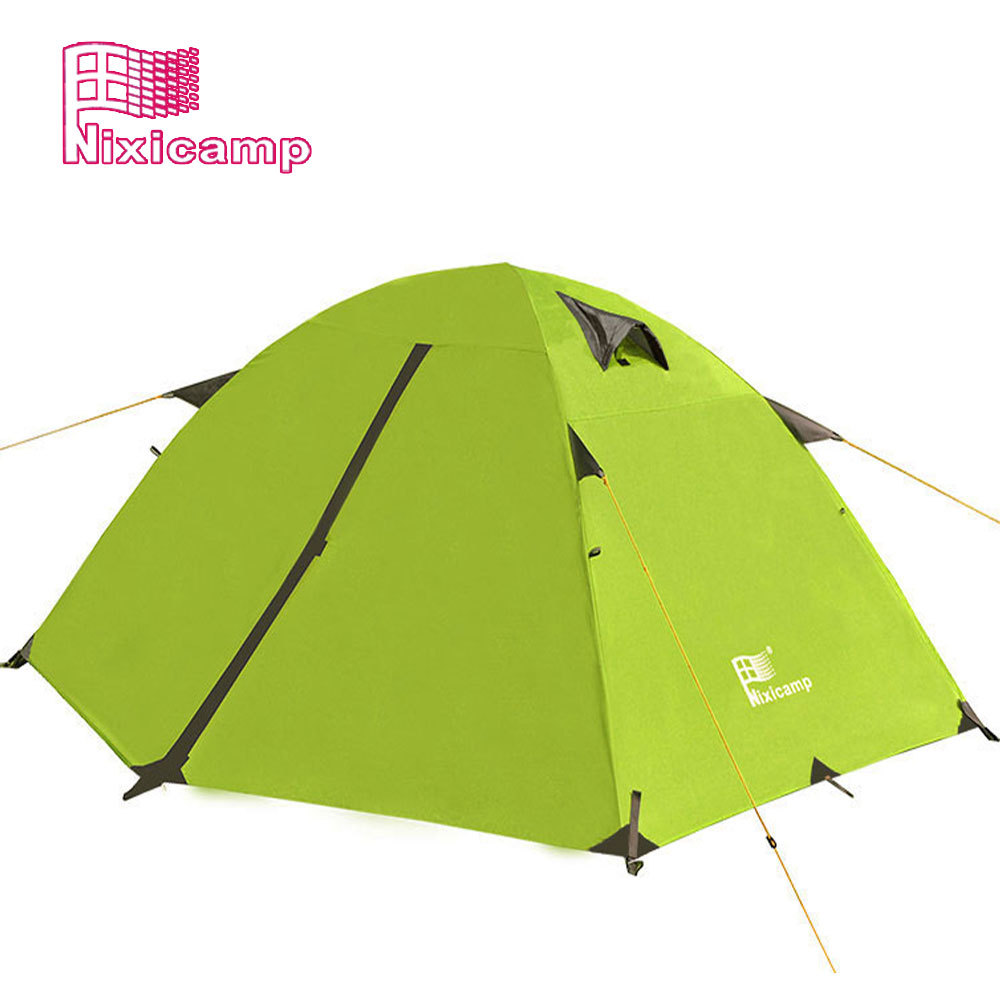 Outdoor tent 3-4 people more than double double automatic tent camping tent camping tent rain II