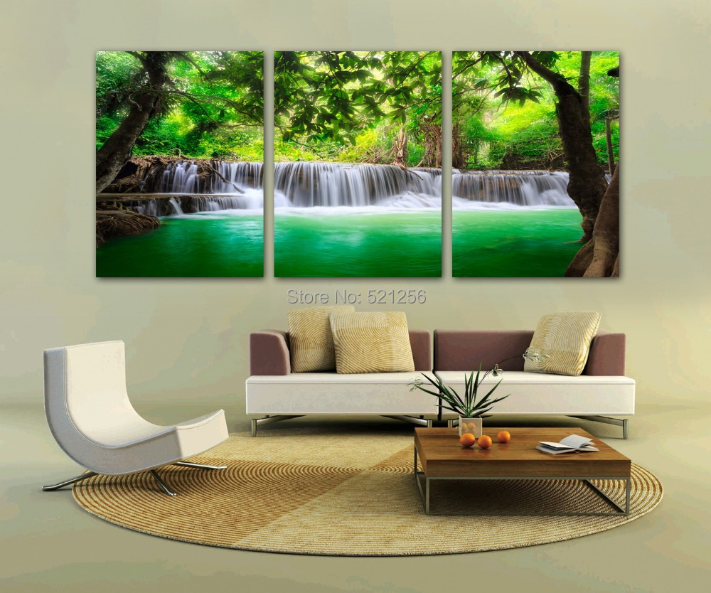 Modern Wall Decor For Patio : Modern wall art home decoration printed oil painting
