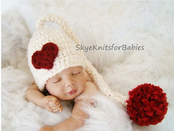 2014 Handmade Knitted crochet baby photography props Newborn baby cute long tail hats & caps Infant Beanie Toddler baby hats(China (Mainland))