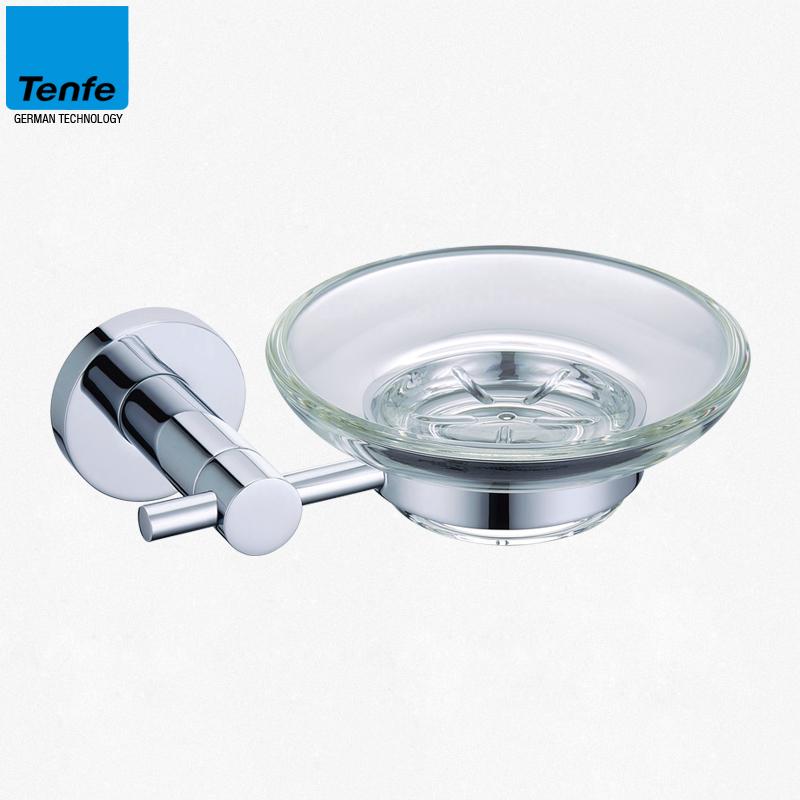 Ding Fei full copper soap holder Soap Dish copper round solid base shelf full bathroom hardware pendant TF2201<br><br>Aliexpress