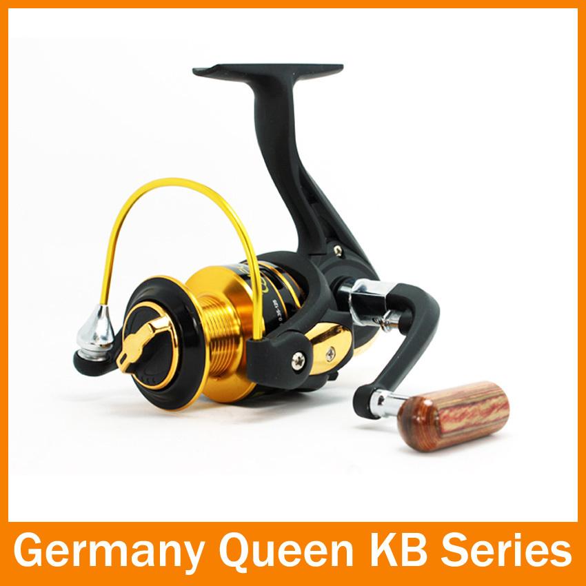 HOT SALE!! KB4000 Spinning reelFishing Reels12BB 5.1:1 spinning reel casting fishing reel lure tackle line