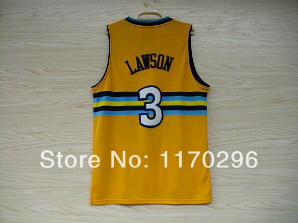 Kids Denver 3 Ty Lawson Basketball Jersey Youth, New Fabrics REV 30 - Wheat friend store