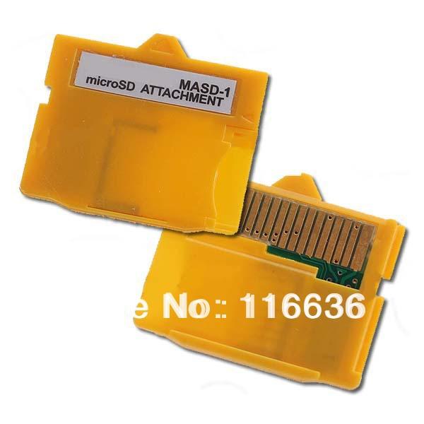 10pcs XD card memory adapter MASD-1 card reader reads micro sd 2gb 4gb 8gb class 2 4 6 wholesale LOT(China (Mainland))