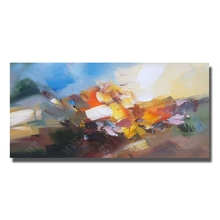 Buy Beautiful Abstract Oil Paintings Home Decor Pictures Living Room Wall Cheap Modern Canvas Painting Framed Art for $13.60 in AliExpress store