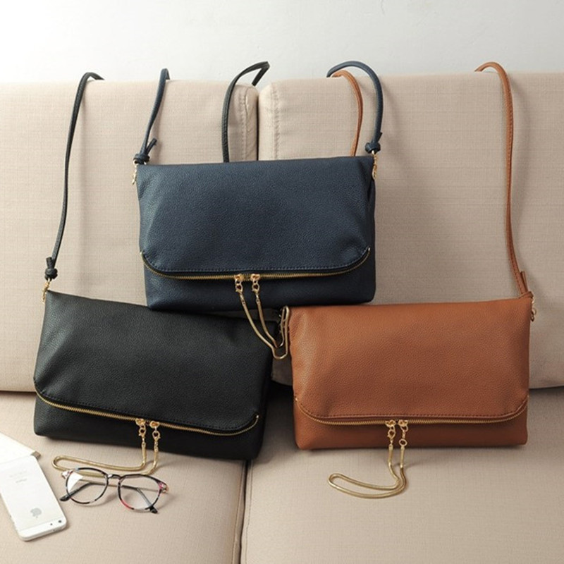 Women Handbag 2016 New Fashion Leather Women handbags Leather bags women Vintage Shoulder Crossbody Bags day clutch for lady