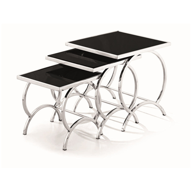 Hot sale small coffee table,end table,side table.console table from China 3pcs is a set(China (Mainland))