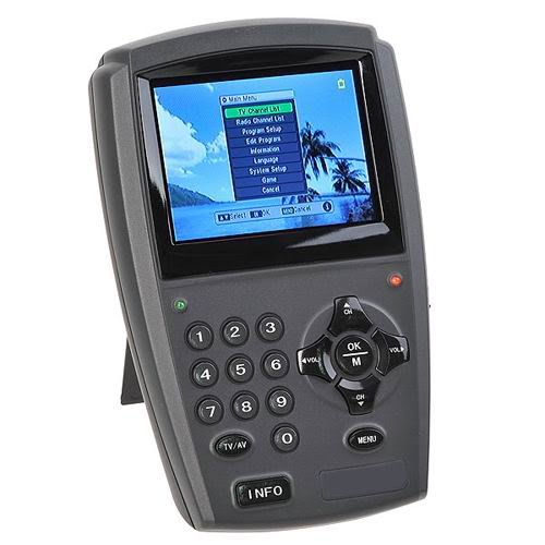 "3.5"" LCD Handheld Digital Satellite Signal Finder Meter DirecTV Dish FTA LNB Sat(China (Mainland))"