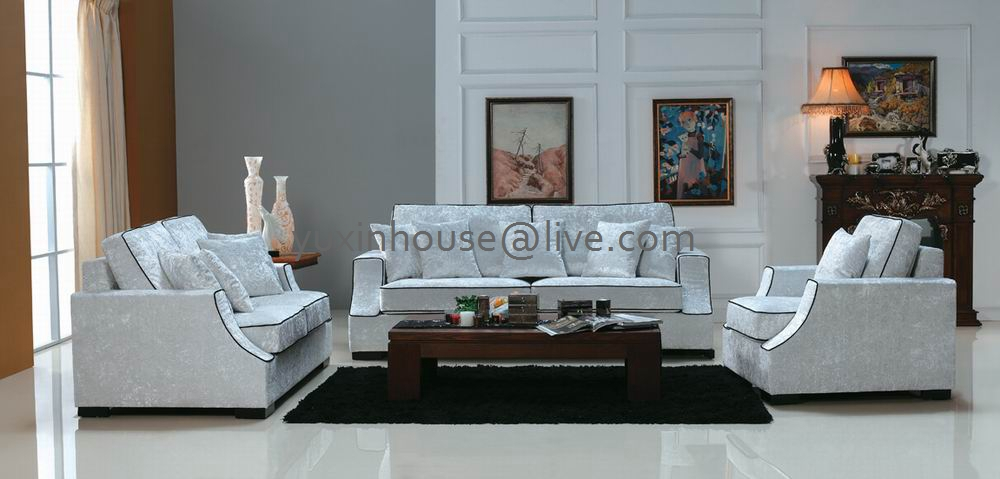 Wholesale Price Home Sofa Sets For Hot Sale Price Living Room Modern Style Fabric Sofa 4 Seaters