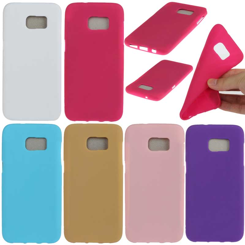 Cellular Phone Case for Samsung Galaxy S6 S7 Soft TPU Silicone Back Shell Skin for Samsung Galaxy S7 Edge Smartphone Accessories(China (Mainland))