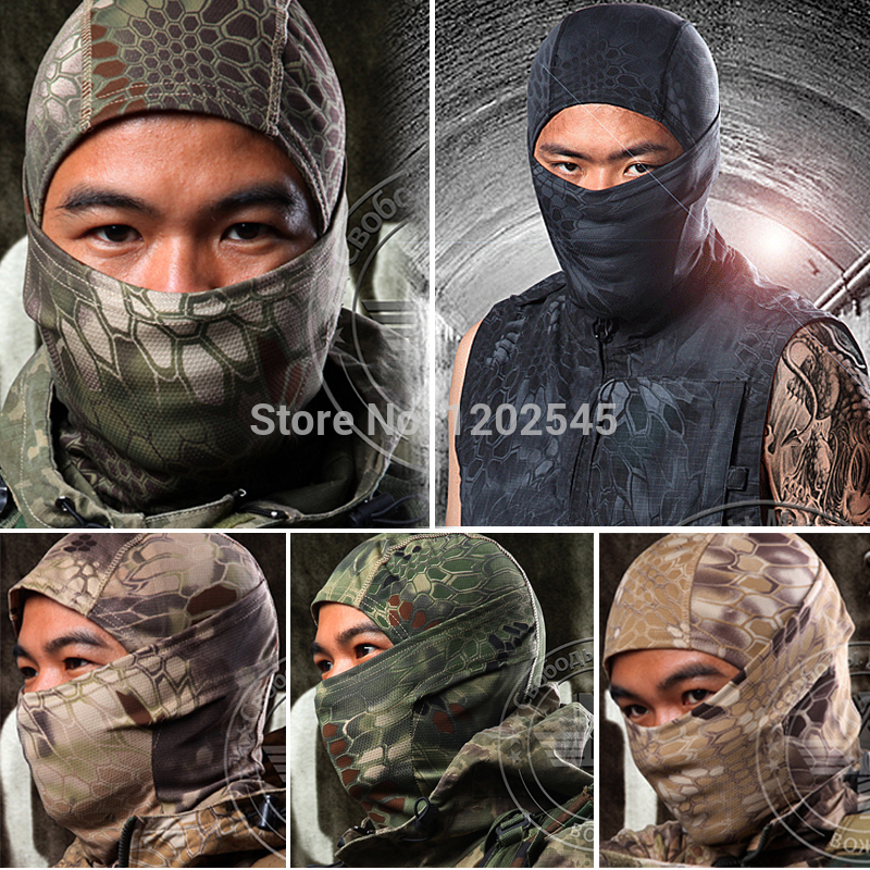 Balaclava Chiefs Camouflage Tactical Hunting Outdoor Wargame Airsoft Motorcycle Ski Cycling Protection Full Face Mask  -  Professional Factory Store store
