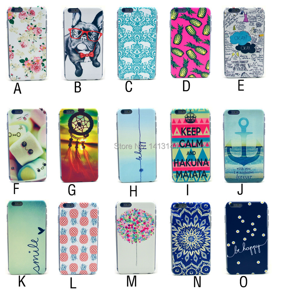 Samsung Galaxy S3 mini i8190 Case Colorful Flower Painting Black Frame Soft PC Mobile Cell Phone Cases Cover S3mini - Bags World store