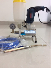 high pressure inject manual resin machine injection epoxy grout pump  (China (Mainland))