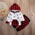 Baby baby boys and girls warm hooded jacket wool