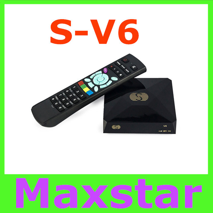 S-V6 Mini HD Satellite Receiver Skybox V6 S Support CCCAMD Newcamd WEB TV USB Wifi 3G Biss Key Youporn Free Shiping(China (Mainland))