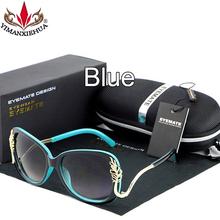 2016 новинка роскошный негабаритных металлический каркас женщины марка очки высокое качество открытый вождения солнцезащитные очки для женщин