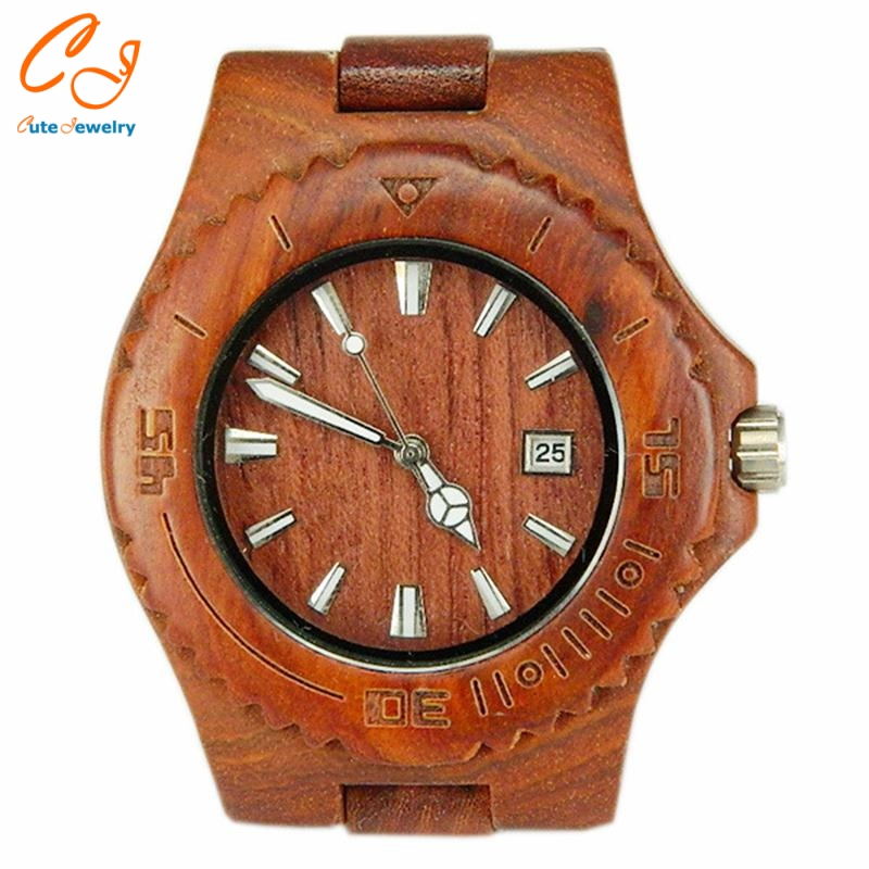 Foreign trade new boutique contracted business ebony watches Monochromatic wood watch All the wooden table The wood watch от Aliexpress INT