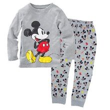 New Baby Boys Girl Clothes Cute Cartoon Long Sleeve Pijamas Kids Homewear Pajama Sets