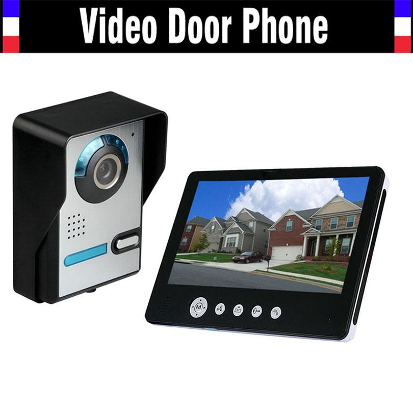 9 Inch Monitor Video Intercom Door Phone Doorbell System IR Night Vision 900TVL HD Camera Door bell Wired for Villa house<br><br>Aliexpress