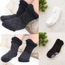 New Lovely Toddler Boy Girls Black White Soft Ankle Short Sock Plaid Net Socks
