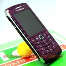 Original BlackBerry Pearl 9105 Mobile Phone GPS 3G WiFi Bluetooth Smartphone Unlocked Purple(China (Mainland))