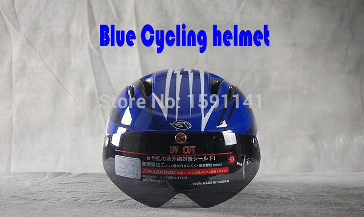 GVR Lens helmet lightning blue cycling helmet with Goggles forming one riding helmet road bike helmet 100% production<br><br>Aliexpress