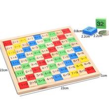 Монтессори образовательных математика игрушки домино детей дошкольного обучения подсчет и укладки доска деревянная математика игрушки развивающие игрушки W116