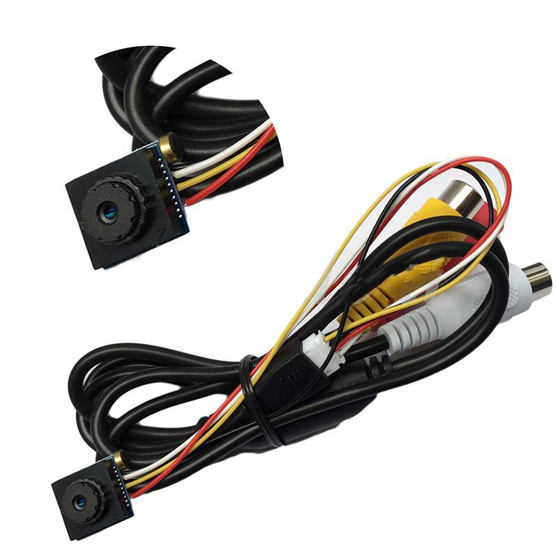 Mini Indoor CCTV Security Video Camera Audio Small 600TVL Home Surveillance CCTV Camera Wire Wide Angle Micro Cam(China (Mainland))