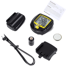 Buy Wireless Cycling Computer Waterproof Bicycle Odometer Speedometer LCD Display Bike Speedometer Cycling Bicycle Stopwatch for $4.94 in AliExpress store