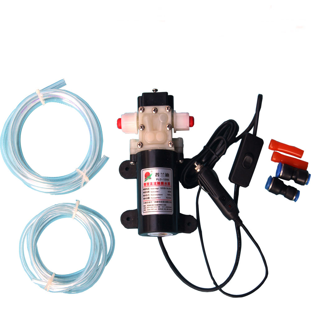 Auto-LKW Elektrische Transfer Ölpumpe Diesel Kraftstoff Wasserpumpe Heizöl Gut