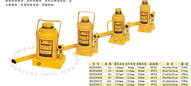 The wholesale price B 6T hydraulic car jack lifting gear 6 t(China (Mainland))