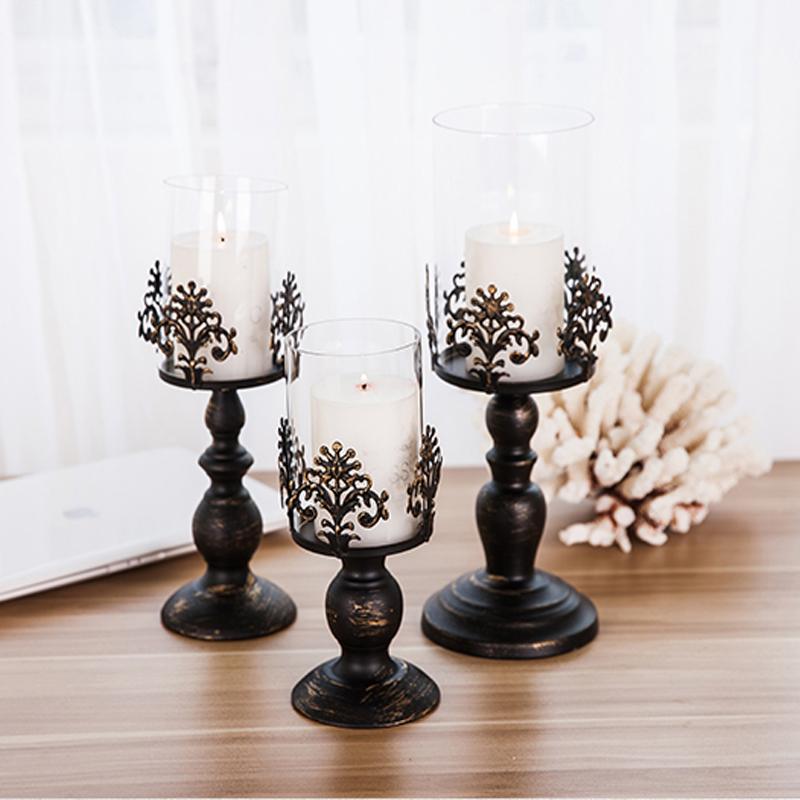 Popular Black Glass Candelabra Buy Cheap Black Glass