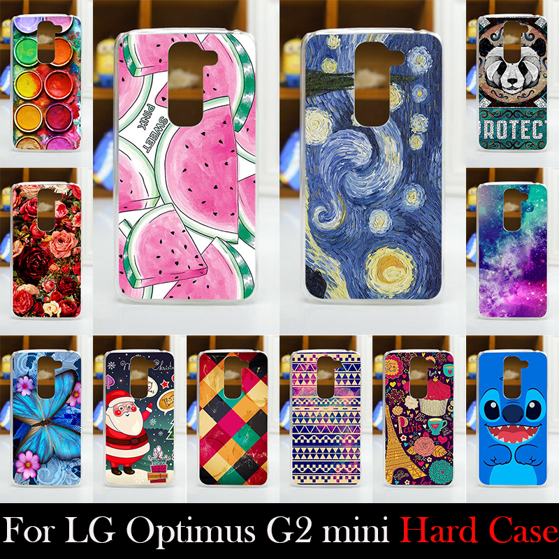 For LG Optimus G2 mini D618 Hard Plastic Cellphone Mask Case Protective Cover Housing Skin Mask Shipping Free(China (Mainland))