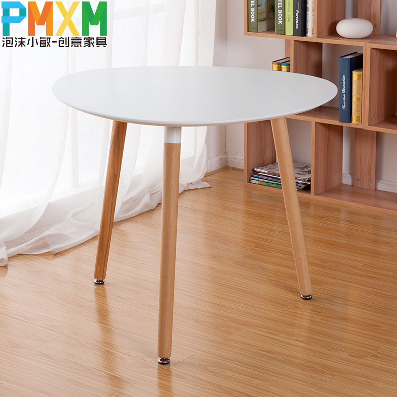 Simple Wooden Table Leg Table Coffee Table IKEA Furniture